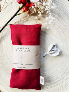 Red Berry Lavender Eye Pillow