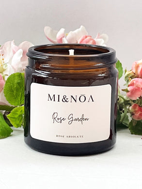 Rose Garden Soy Wax Essential Oil Candle