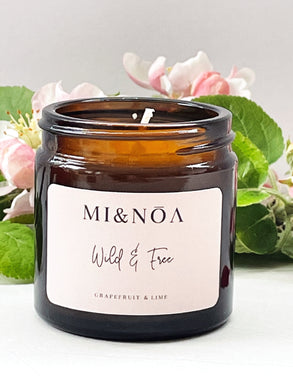 Wild & Free Soy Wax Essential Oil Candle