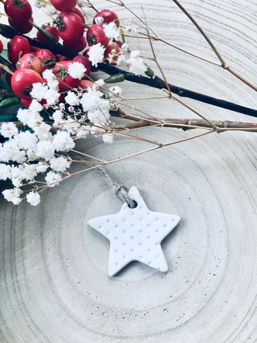 Ceramic Dotty Star
