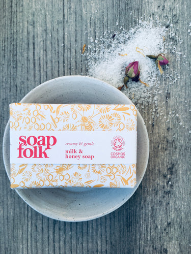 Milk & Honey Soap