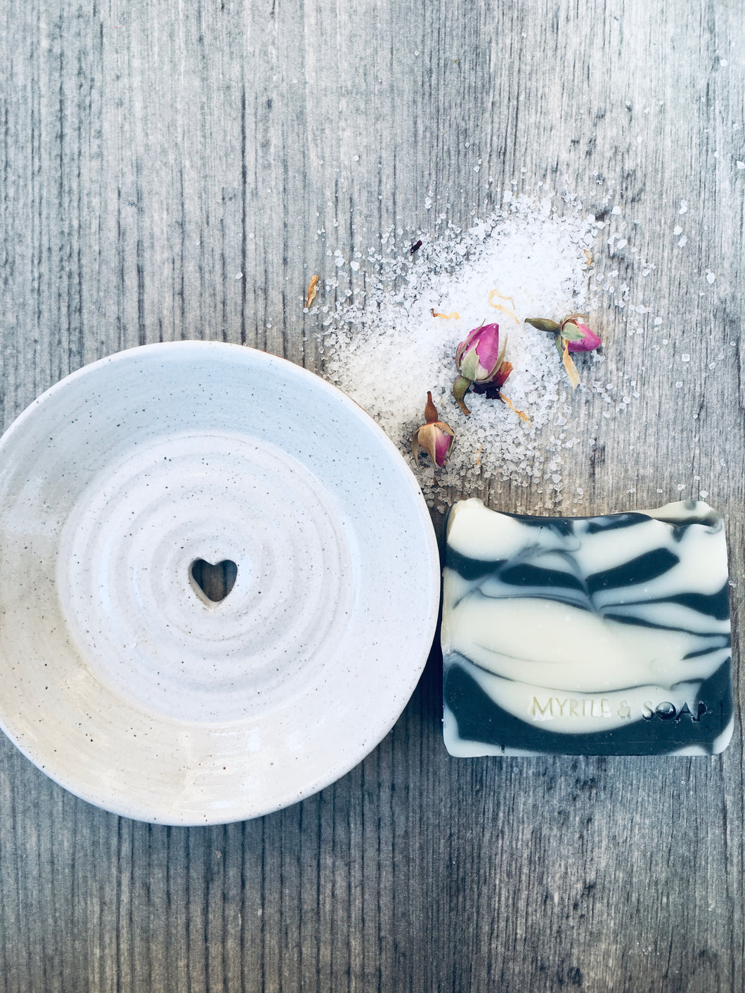 Ivory Ceramic Soap Dish