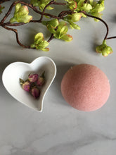 Load image into Gallery viewer, Bio degradable, Rose Pink natural Konjac Sponge