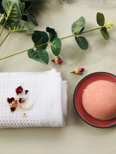 Load image into Gallery viewer, Bio degradable Rose pink natural Konjac sponge gift