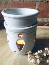 Load image into Gallery viewer, Stoneware Ceramic Incense Oil Burner/ Wax Melt Burner