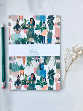 Load image into Gallery viewer, Plant Lady A5 Recycled Note Book