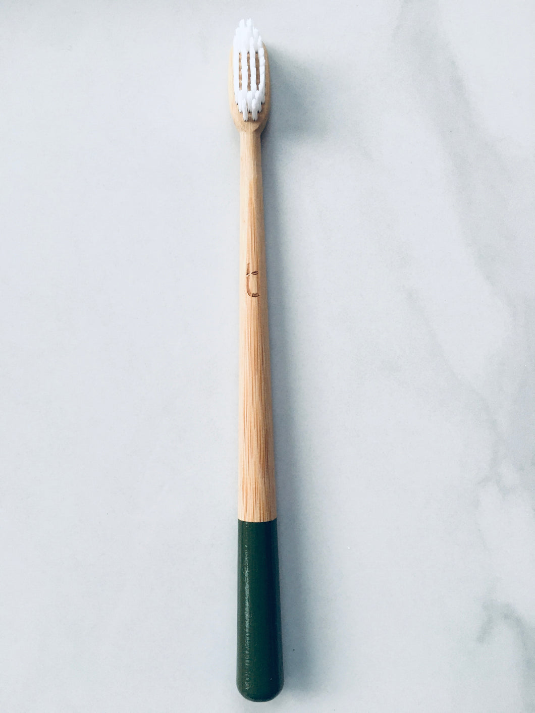 Moss Green Bamboo Tooth Brush