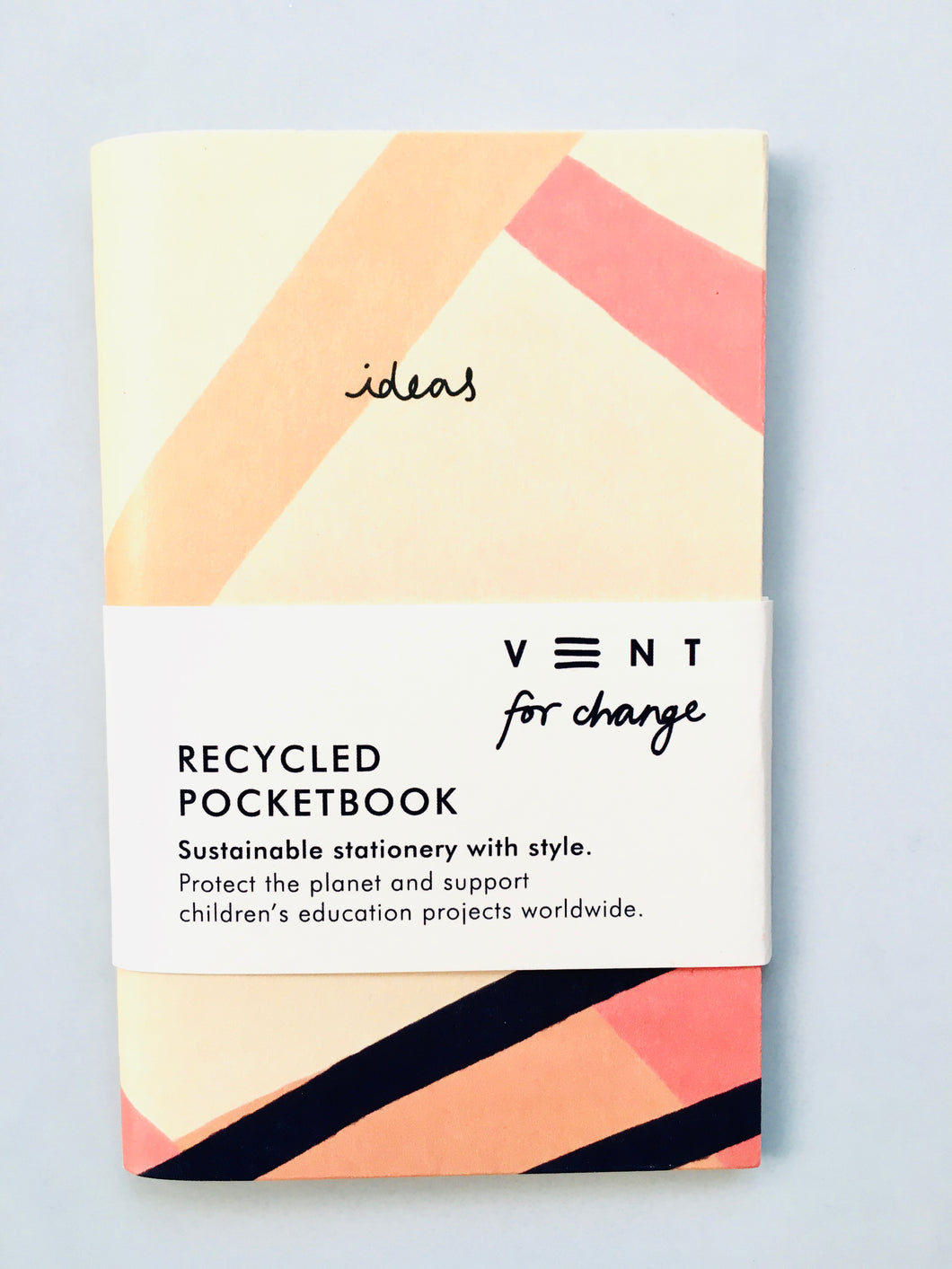 Pink Recycled Pocket Notebook