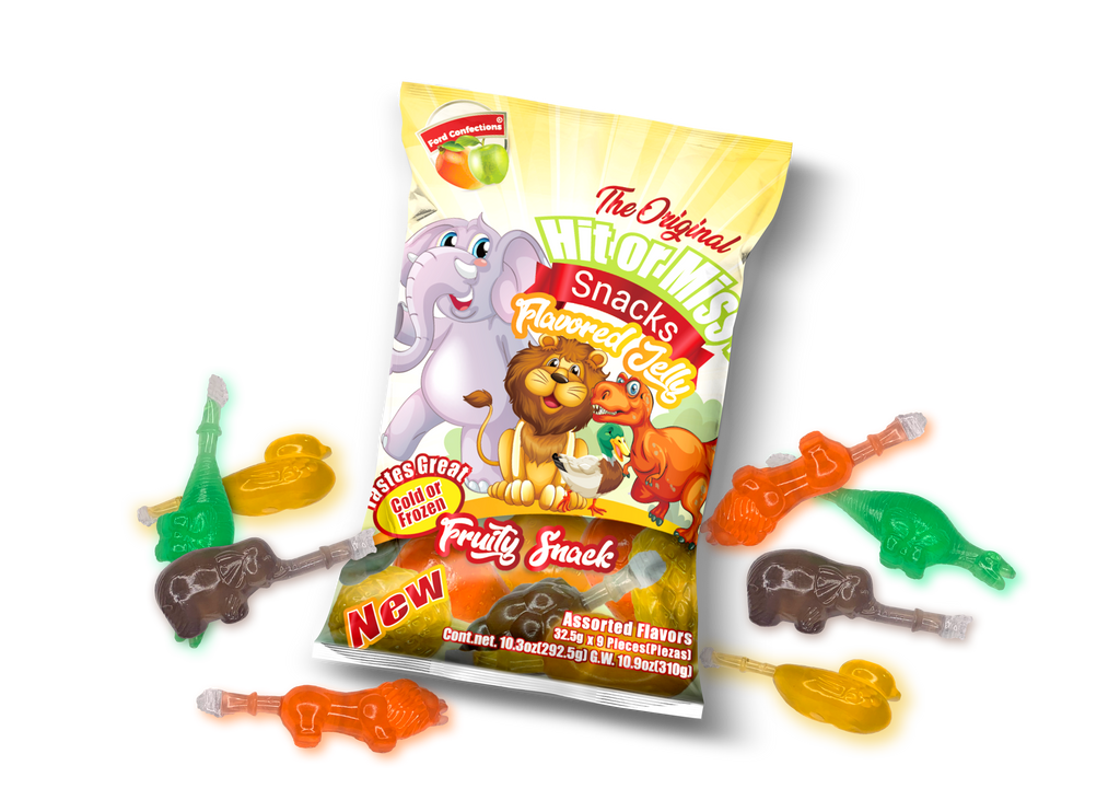 Hit or Miss® Flavored Jelly Snack (Animals) - Ford Emporium