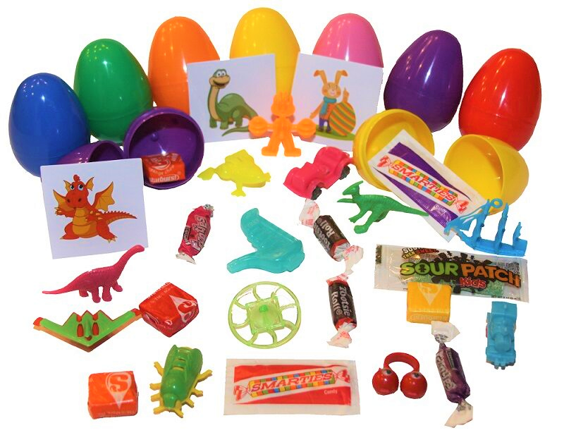 (1 Item) Assorted Filled Easter Eggs (100) pcs