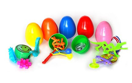 (2 Items) 2 Toy Filled Eggs - 1000pcs