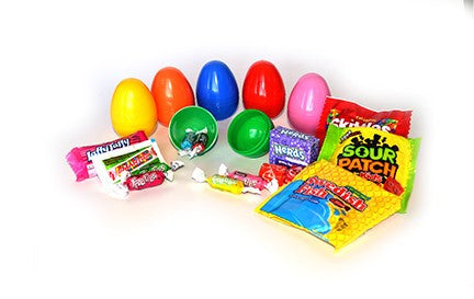 (2 Items) Candy Filled Eggs 2 piece - 1000 pcs