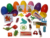 (1 Item) Assorted filled Eggs Candy, Toy Sticker or Tattoo - 1000 pcs