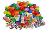Plastic Easter Eggs Filled  -(1 Item) Assortment Toy, Sticker, Candy, Tattoo - 1000 pcs