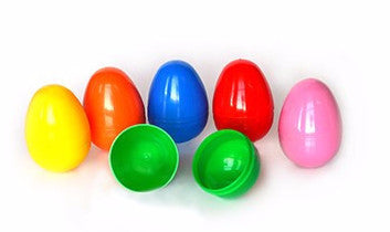 Bulk Plastic Easter Eggs - 1000 Count