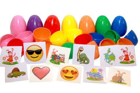 (1 Item) Sticker or Tattoo filled Eggs - 1000 pcs