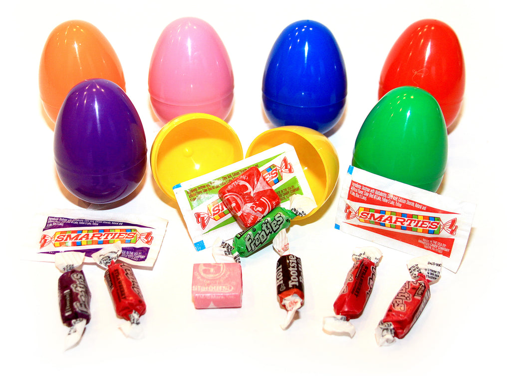 (3 Items) Candy Filled Eggs (100) pcs