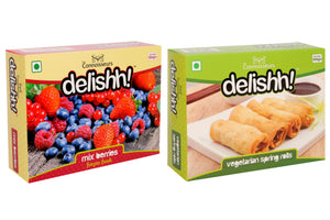 Mix Berries & Veg Spring Rolls Combo 1 KG