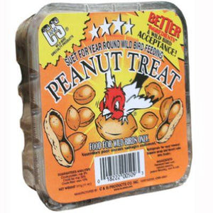 Peanut Treat Suet (NA above 70 degrees)