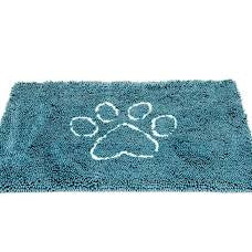 Dirty Dog Doormat Pac. Blue Lg.