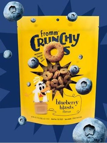 Fromm Blueberry Blasts Crunchy O's, 6 oz.