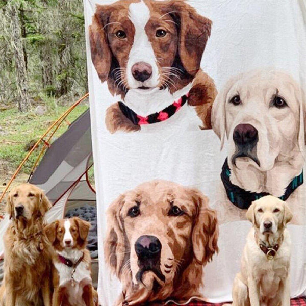 5D Diy Custom Back View Of Father And Son Photo Diamond Painting