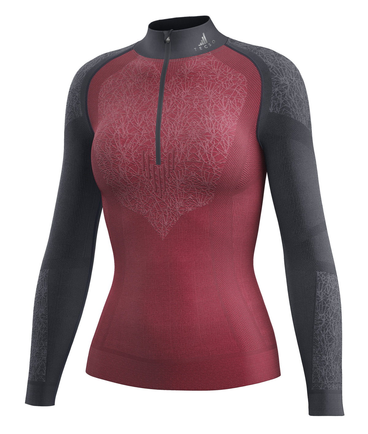 WINTER BASE LAYER ZIP - WOMAN