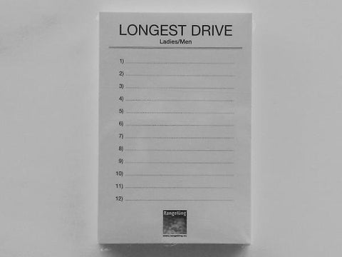 Longest drive / neary cards (50 pcs)