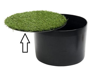 Footgolf cover only with grass for BASIC model cup