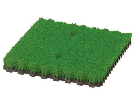 Fiberbuilt FAIRWAY GRASS 1 panel of 30 x 30  cm / 2 holes