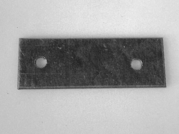 Mounting plate for line collector rubber ball whiper (2 needed per finger frame)