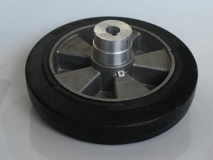 Feed wheel with hub for RangeMaxx turbo blowing unit