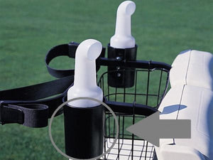 Holder - Black for Cart caddie seed & soil bottles