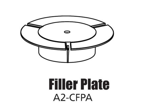 Tour Links cup filler plate