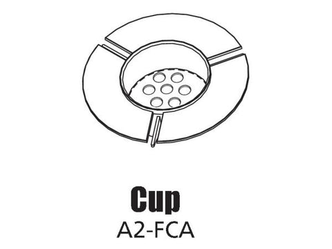 Tour Links floating cup assembly
