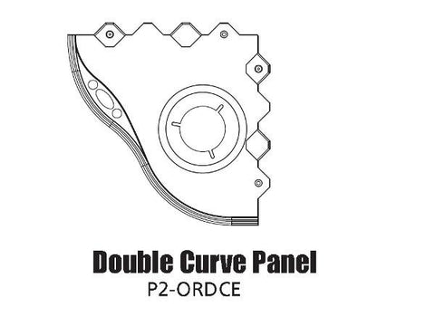 Tour Links panel radius outside double curve edge
