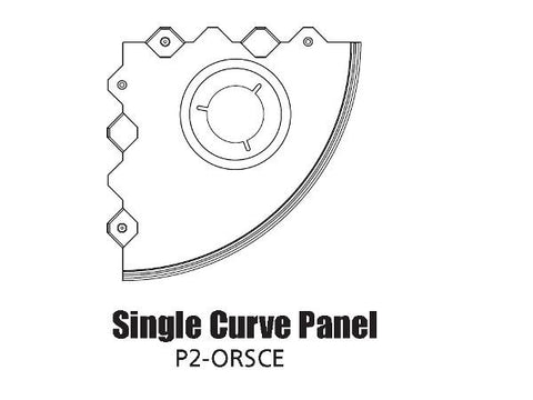 Tour Links panel radius outside single curve edge