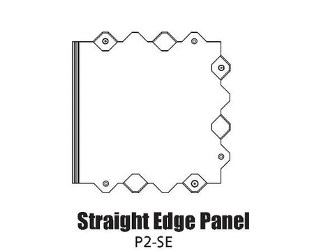Tour Links panel straight edge