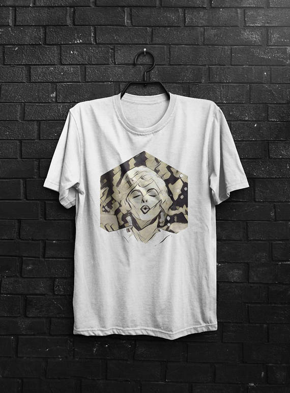 Marilyn Monroe Shirt Men T Shirt White T-Shirt