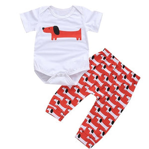 Fashion Cute Newborn Kids Baby Girl Boy Cartoon
