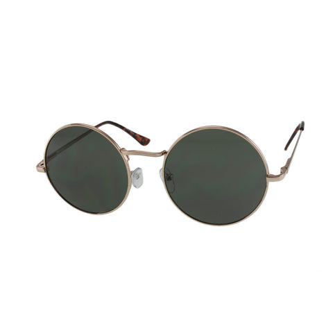 MQ Presley Sunglasses in Gold / G15 Green