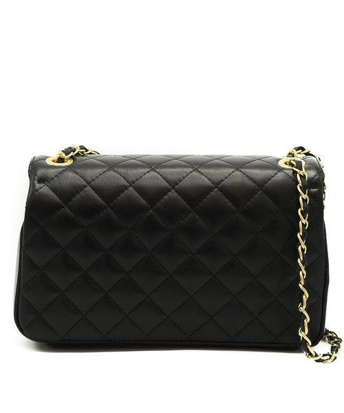 AUDREY MEDIUM BLACK BAG-bags-Le Musthave