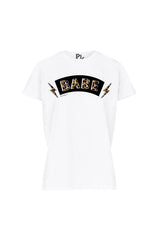 BABE ZEBRA TEE WHITE-SHIRTS-Le Musthave