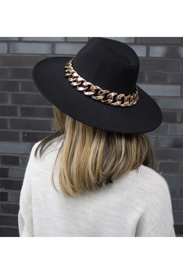 CLASSIC HAT BLACK GOLD-hat-Le Musthave