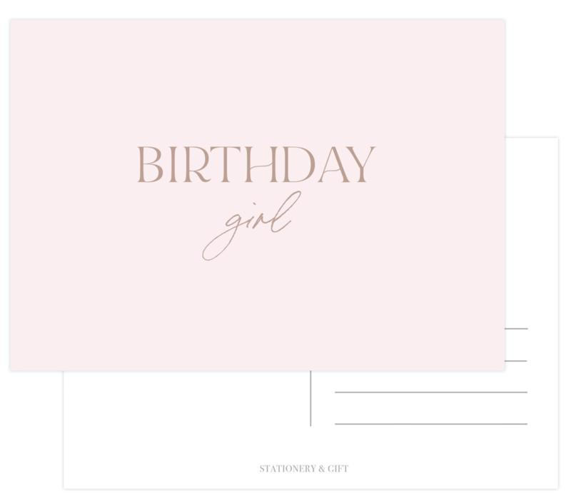 CUTE CARD | BIRTHDAY GIRL-gift-Le Musthave