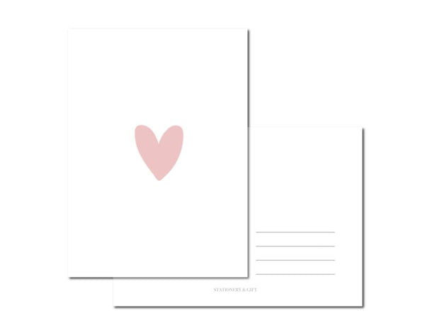 CUTE CARD | HEART PINK-gift-Le Musthave
