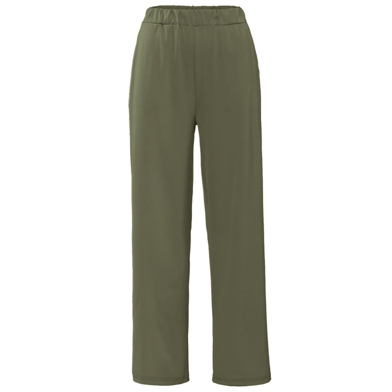 GLADYS ARMY GREEN PANTS-PANTS-Le Musthave
