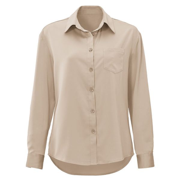 GLADYS BEIGE BLOUSE-Le Musthave
