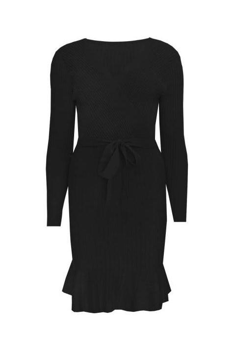 KYLIE DRESS BLACK-DRESSES-Le Musthave