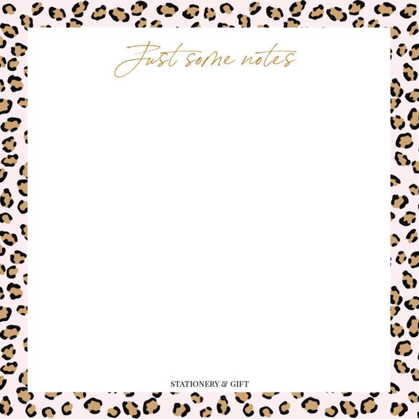 PINK LEOPARD NOTES-gift-Le Musthave
